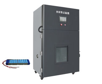 220V 60HZ Battery Testing Equipment / Thermal Shock Thermal Abuse Test Chamber Dengan PID Micro Computer Control